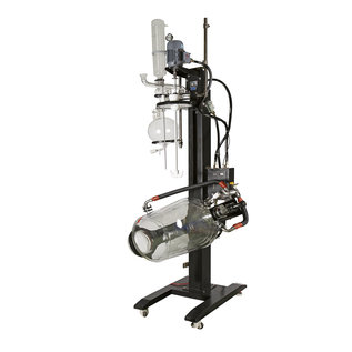 Goldleaf Scientific Triple Jacketed Electric Lifting Glass Reactor w/ Explosion Proof Motor (C1D2)