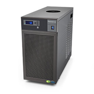 PolyScience LS5 Benchtop Chiller with Turbine Pump, 120V, 60 Hz Cooling Capacity @ 20 C: 900 W, Max Flow 2.6 gpm (9.8 l/min); Max Pressure 43.4 psi (3.0 bar)