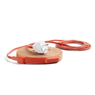 BriskHeat RKP Long-Length Silicone Heating Tape with Preset Thermostat