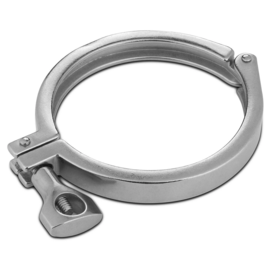 "4"" Single Hinge Tri-clamp"