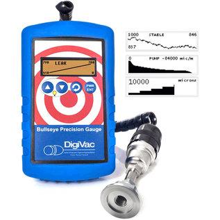 DigiVac Bullseye Precision Vacuum Gauge with 536 KF-25 Sensor