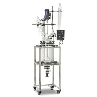 Goldleaf Scientific Double Jacketed Glass Reactor 100L