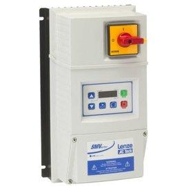 3HP LENZE SMVECTOR NEMA4X VFD 208-240VAC 1or3PH INPUT ESV222N02YMC
