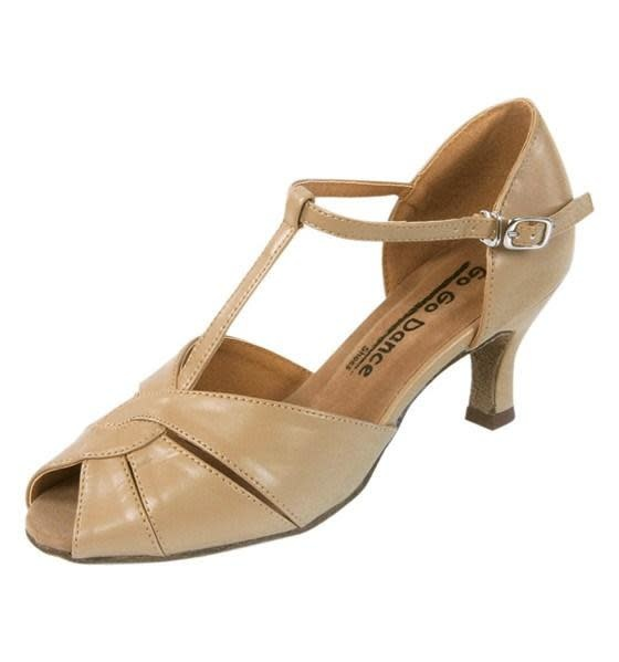 "Gogodance Ballroom Dance Shoes GO4201, 2.5 "" Heel, T-Strap"