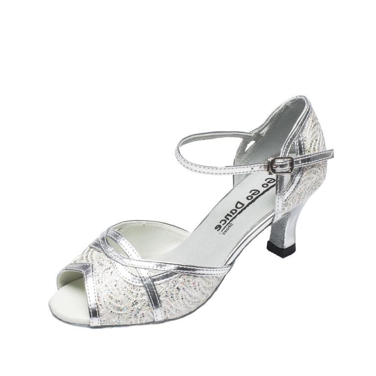 "Gogodance Ballroom Dance Shoes GO1005, 2.5"" Heel"