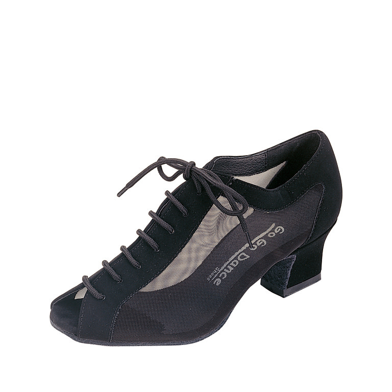 "Gogodance Practice Ballroom Dance Shoes GO4050, 1.8"" Cuban Heel, Lace Up"