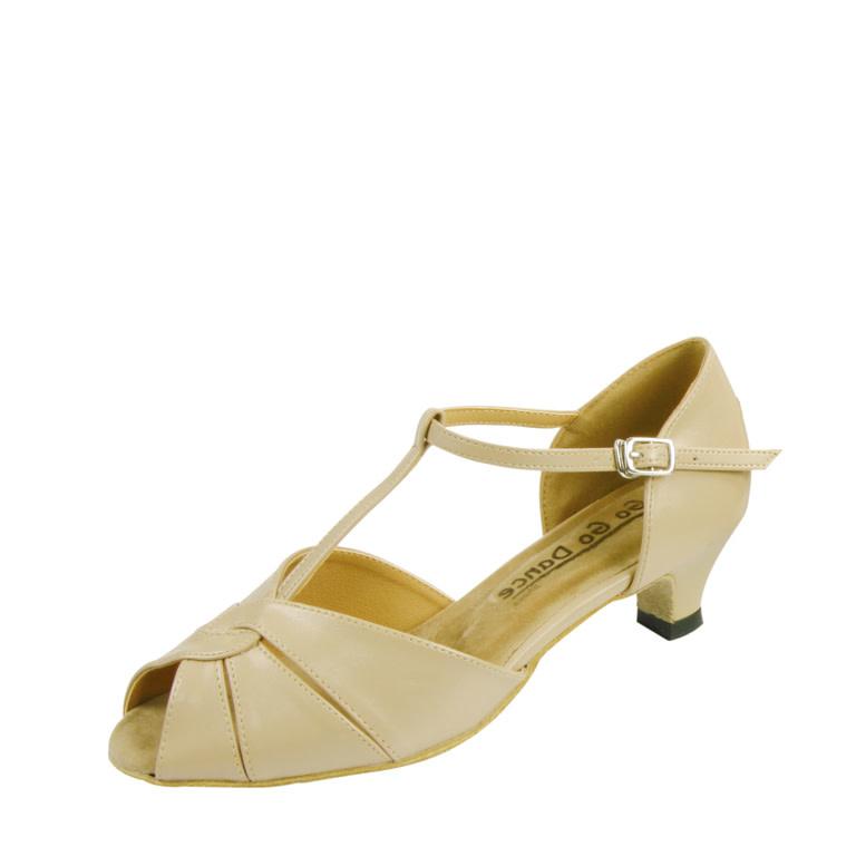 "Gogodance Ballroom Dance Shoes GO7051, 1.3 "" Heel,T-Strap"