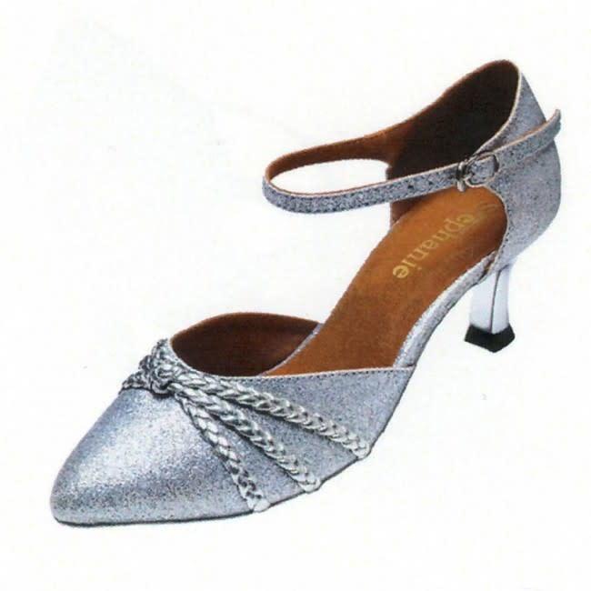 """Stephanie Ballroom Dance Shoes Stephanie 5025, 2"""" Hell, Close toe"""