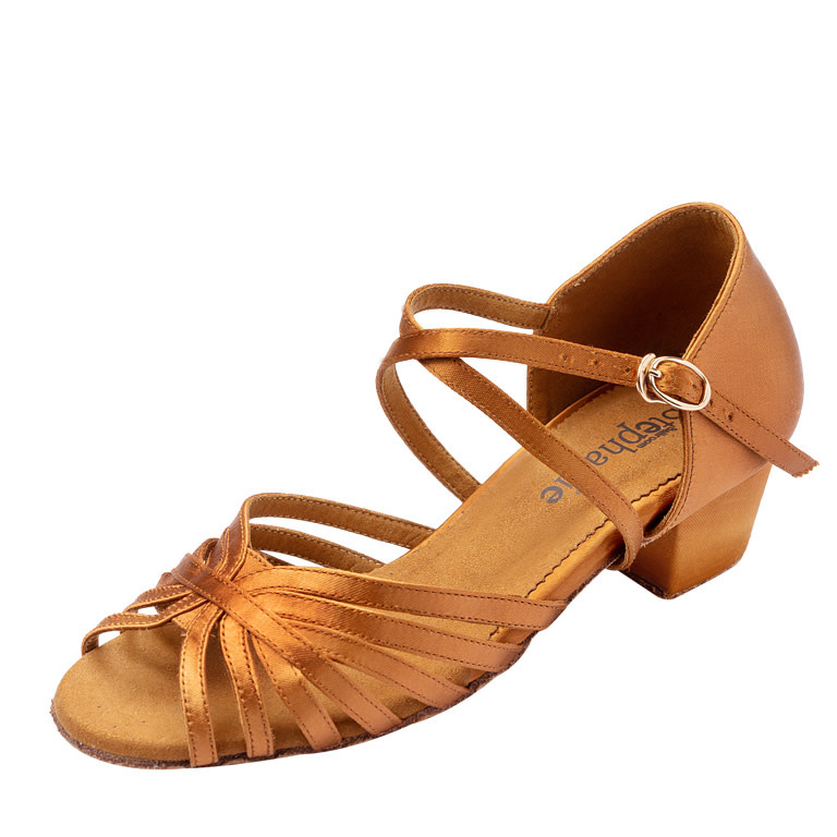 "Stephanie Ballroom Dance Shoes Stephanie 16006-65x, 1.5"" Heel"