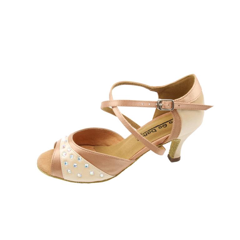 Gogodance Ballroom Dance Shoes GO9741, 2.5 Heel