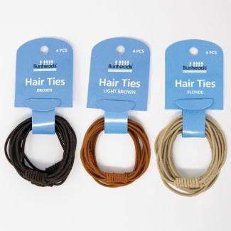 Bunhead Attache à cheveux élastique Capezio BH1505U, 4 par paquet