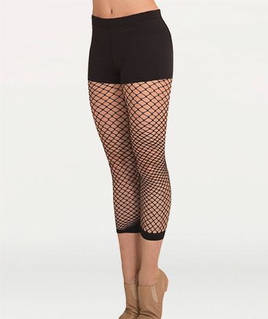 Body Wrappers Crop Fishnet A63 Body Wrapper