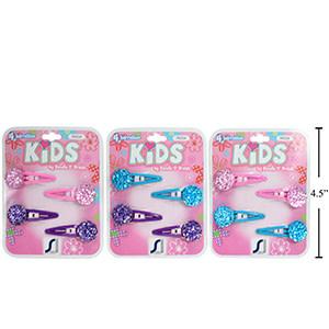Barrettes Kids 76534, Paquet de 4