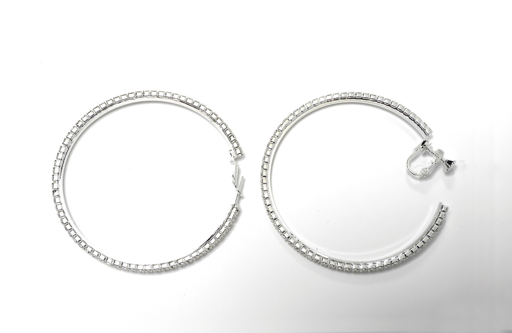 FH2 40 mm Hoop Earring FH2 AY0115