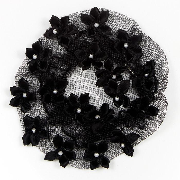 Dasha Cache-chignon avec fleurs Dasha 2114