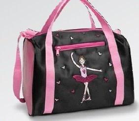 "DanzNmotion ""Geena Ballerina Hearts"" Dance Bag, Danshuz B841"
