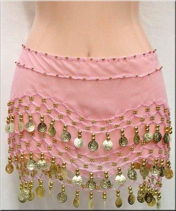 Belly Dance Skirt, 3 row