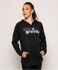 Motionwear Chandail manche longue Motionwear 6467, avec capuchon, imprimé :  «Mad At Gravity»