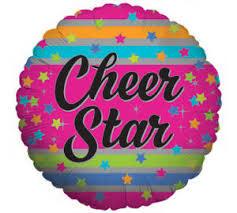 "Balloon ""Cheer Star"",  Burton A66730, 18"""
