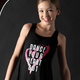 """Motionwear Tank Top Motionwear 4078-017, """"Dance Your Heart Out"""""""