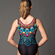 "Motionwear ""Mandala"" Gym Leotard Motionwear 1727"