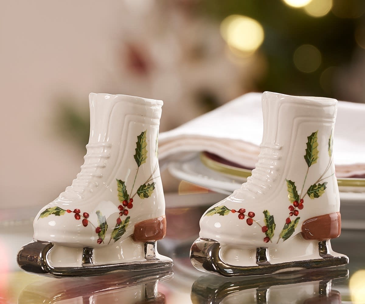 giftcraft Skate Salt and pepper, GiftCraft 657104, set of 2