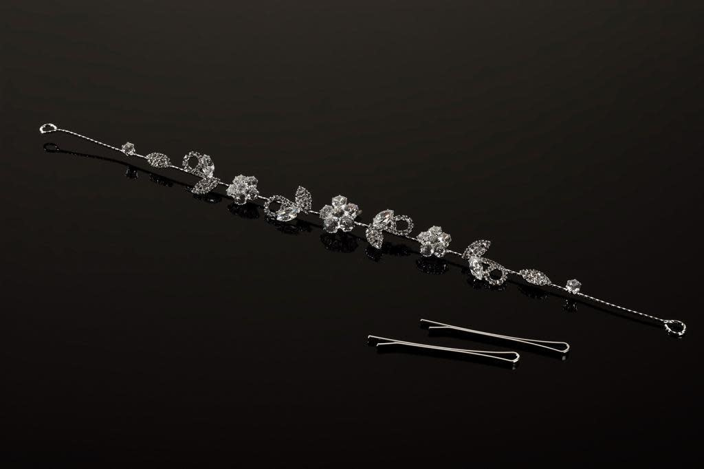FH2 FH2 HB0401, ''Flexible Head Band with rhinsestones""