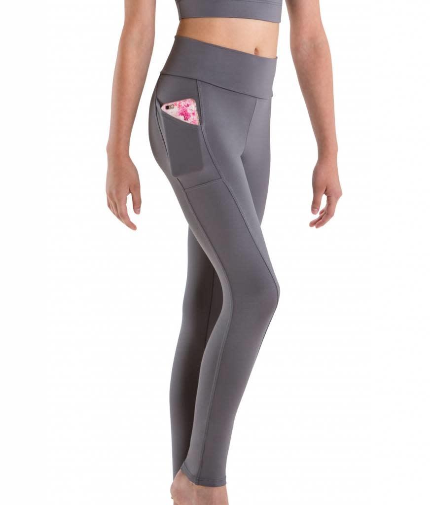 Motionwear Roll Top Pocket Legging Motionwear 7161
