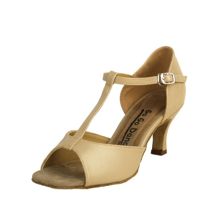 Gogodance T-Strap Ballroom Dance Shoes GO4120, 2.5 Heel