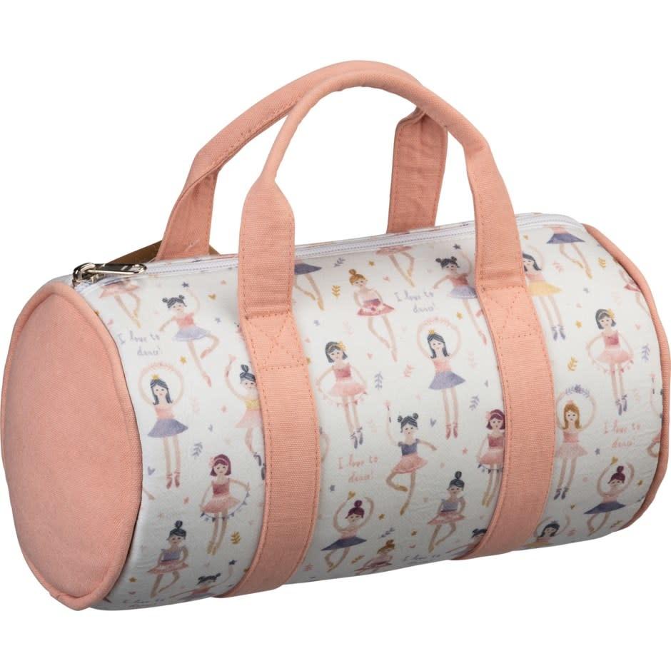 "candym Barrel Bag - I Love To Dance, P104413, 11"" x 6"" x 6"""