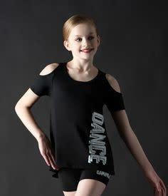 """Motionwear Short Motionwear 4902-017, Taille basse En Silkskyn, Imprimé glitter: """"Dance"""""""