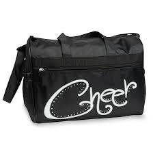 "DanzNmotion Sac Danshuz, ""Cheer Duffel"", Diamanté ""With Rhinestones"", Couleur: noir"