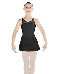 Mirella Flower Mesh Pull-On Skirt Mirella MS130C