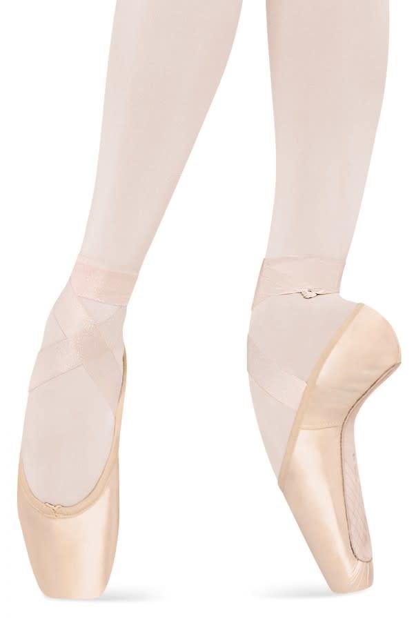 """Bloch A0529 Ruban de satin """"Sheer Stretch"""" pour pointes, Largeur: 7/8 pouce, Couleur: PNK rose ballet, Longueur:  2 mètres"""