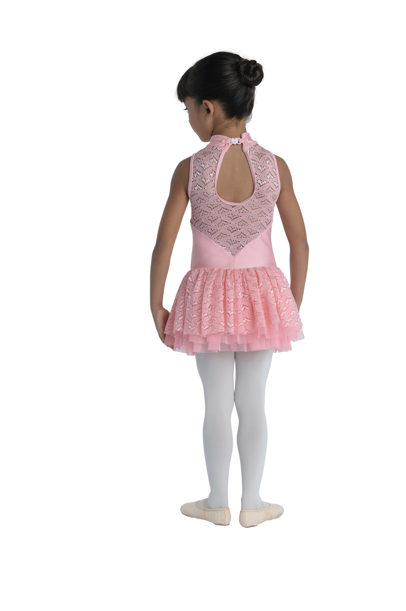 DanzNmotion Cutaway Lace Tutu Dress Danshuz 20200C