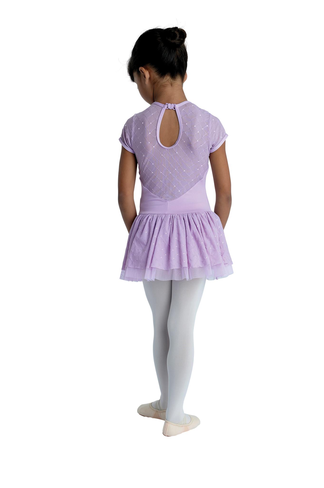 DanzNmotion Sequin Embellished Dress Danshuz 20202C