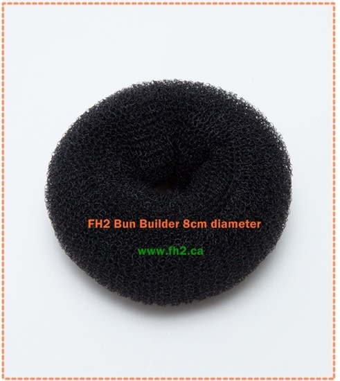 FH2 Child Size Bun Builder FH2 BB0002, Black