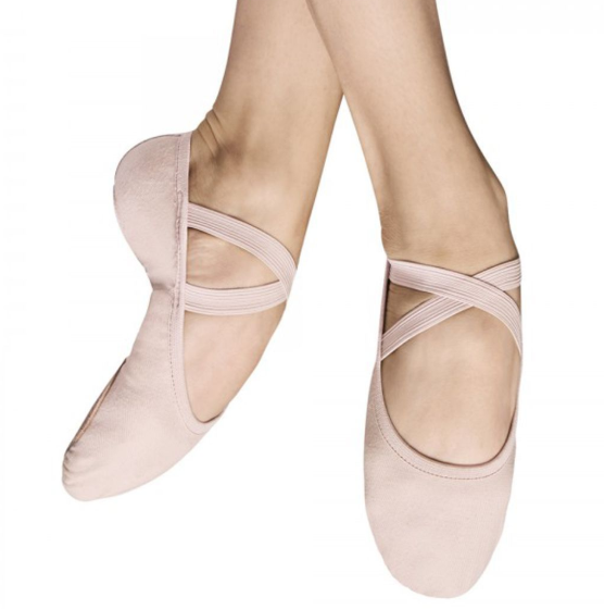 "Bloch ""Performa""  Bloch S0284S, Canvas Split Sole Ballet Slippers"