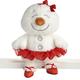 Ballerina Snowgirl Plush, Ganz HX11614