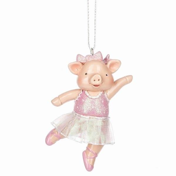 """Ballerina Pig"" Ornament, Midwest 128737"