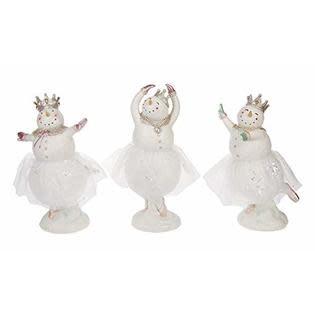 Ballerina Snowgirls, Ganz HX11614, 5.5 X 9.5 inch