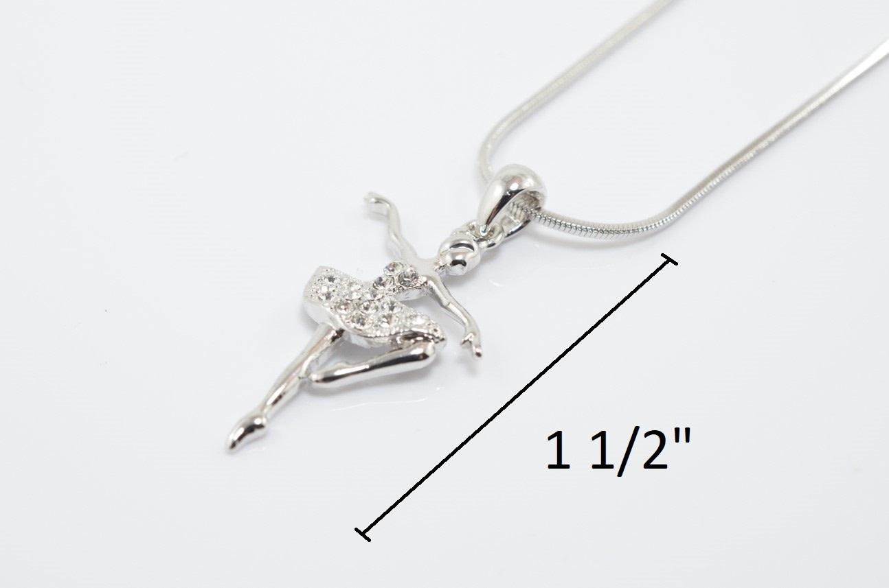 """""""Ballerina"""" necklace, Yunie N050271M"""