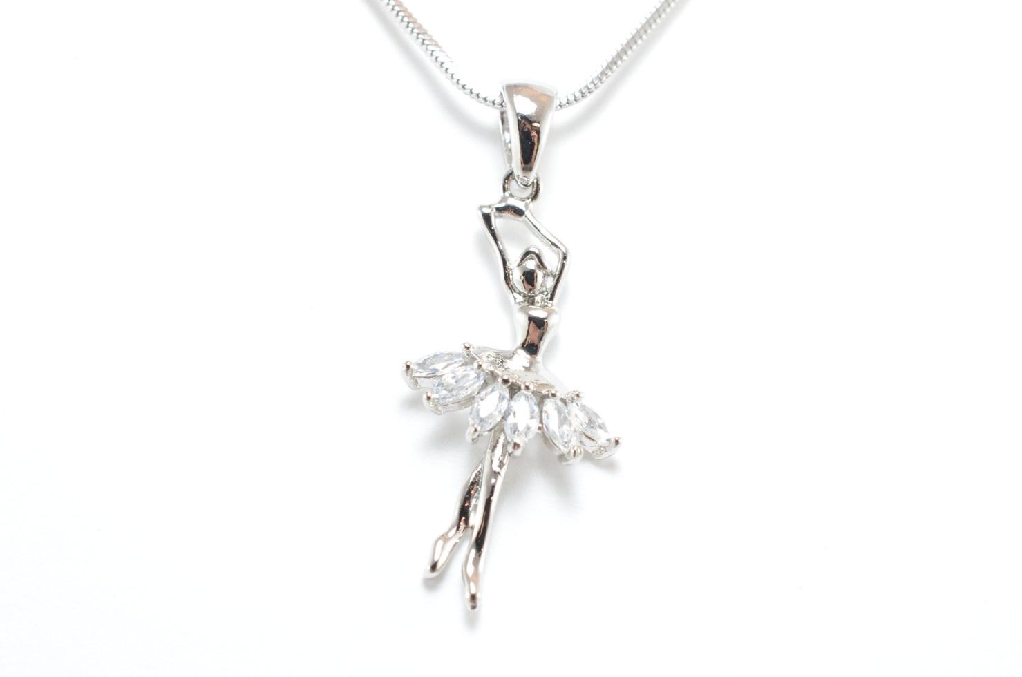 Ballerina Necklace, Yunie 045451H