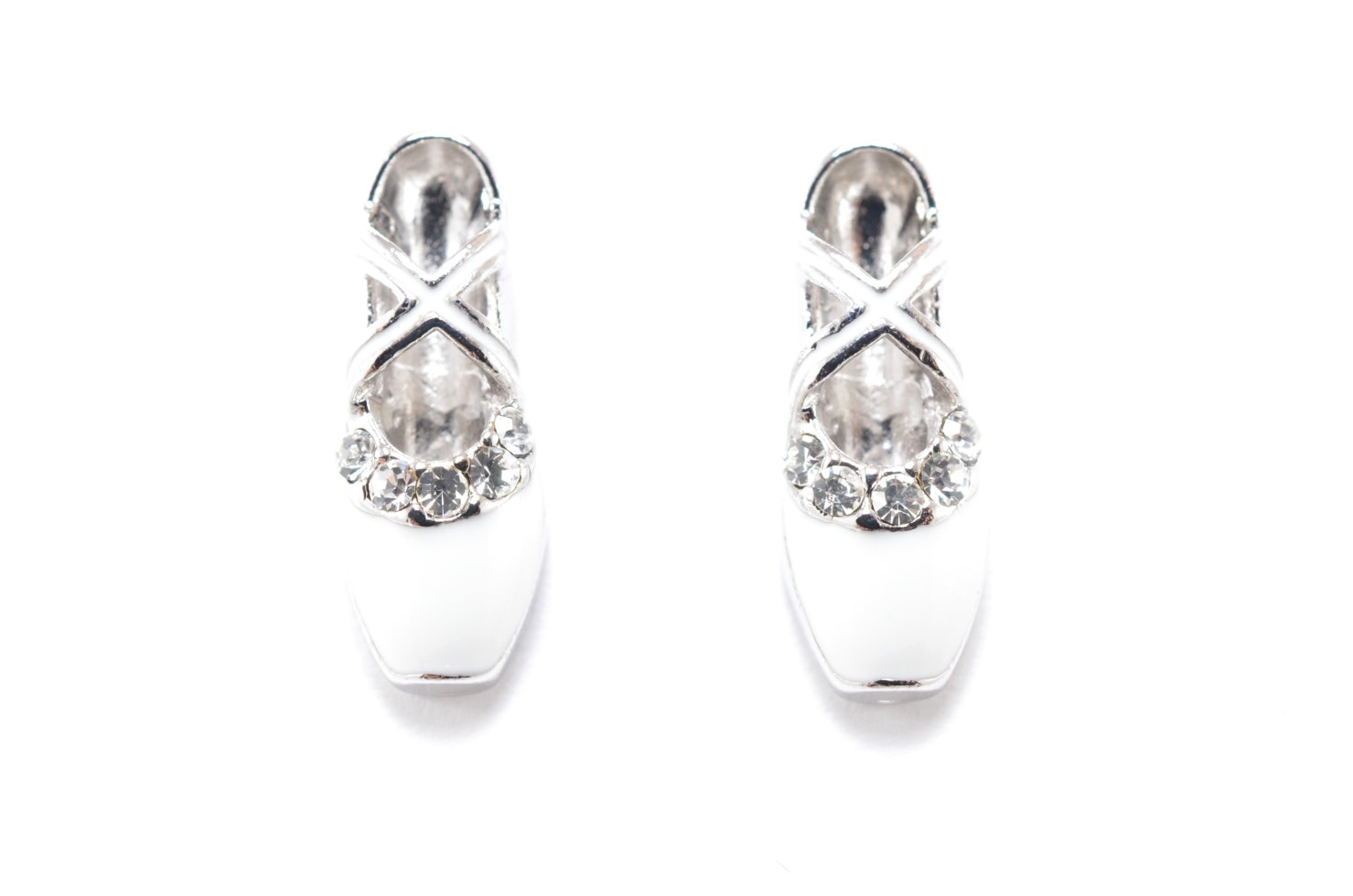 ''Ballerina Shoes'' Earring, Yunie E060133T