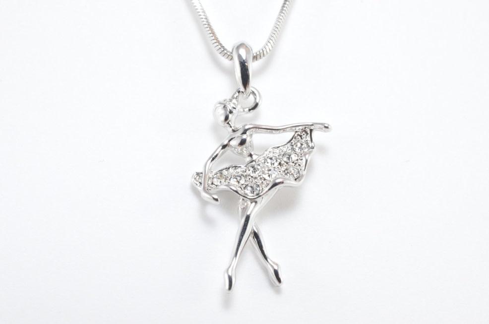 """""""Ballerina"""" Necklace, Yunie N045315E"""