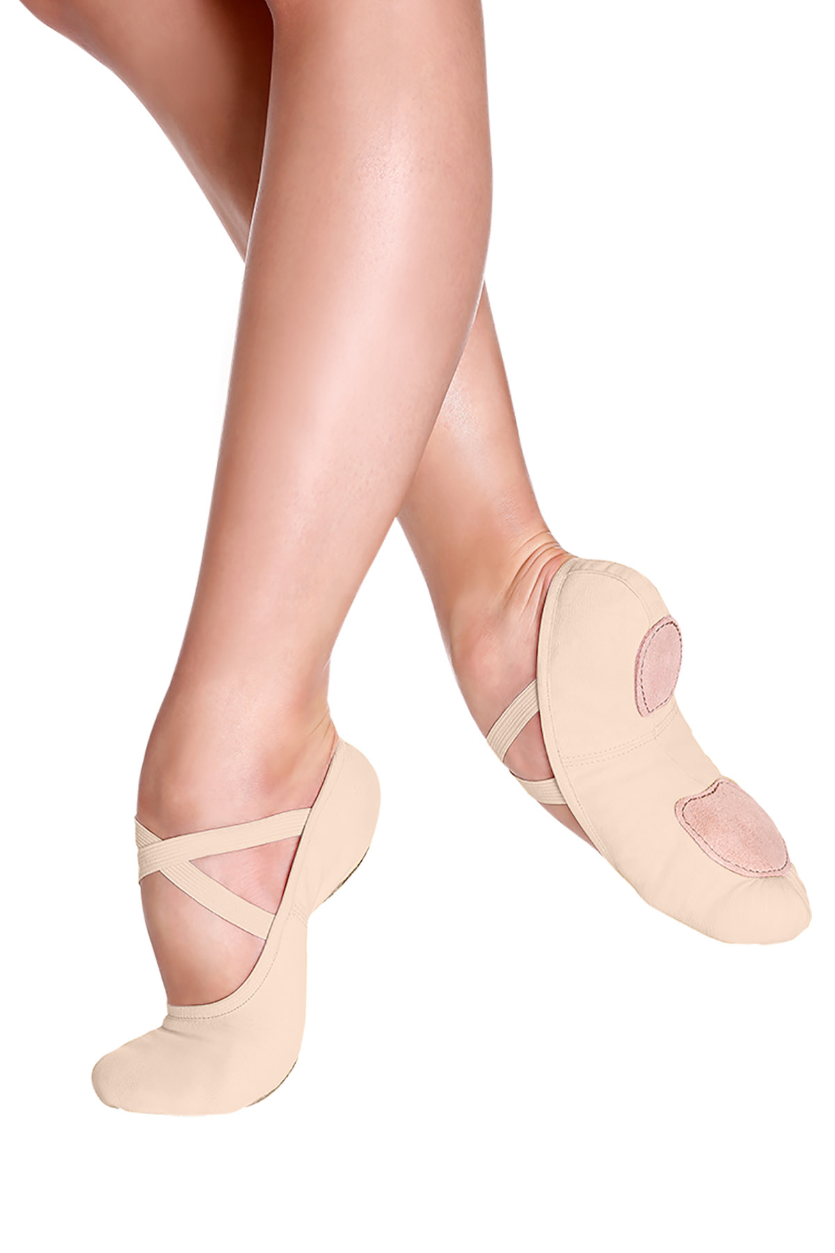 So Danca Ballet slippers So Danca SD-16L, Stretch canvas split sole