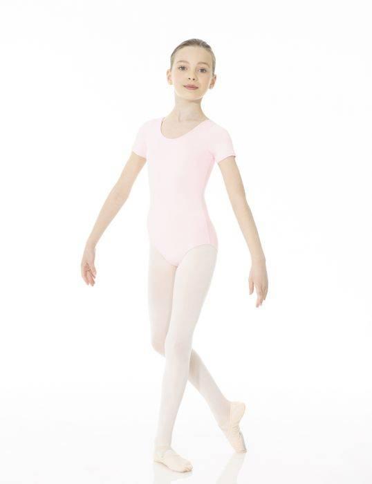 Mondor Maillot de Danse Mondor 40096, Manches courtes, Microfibre