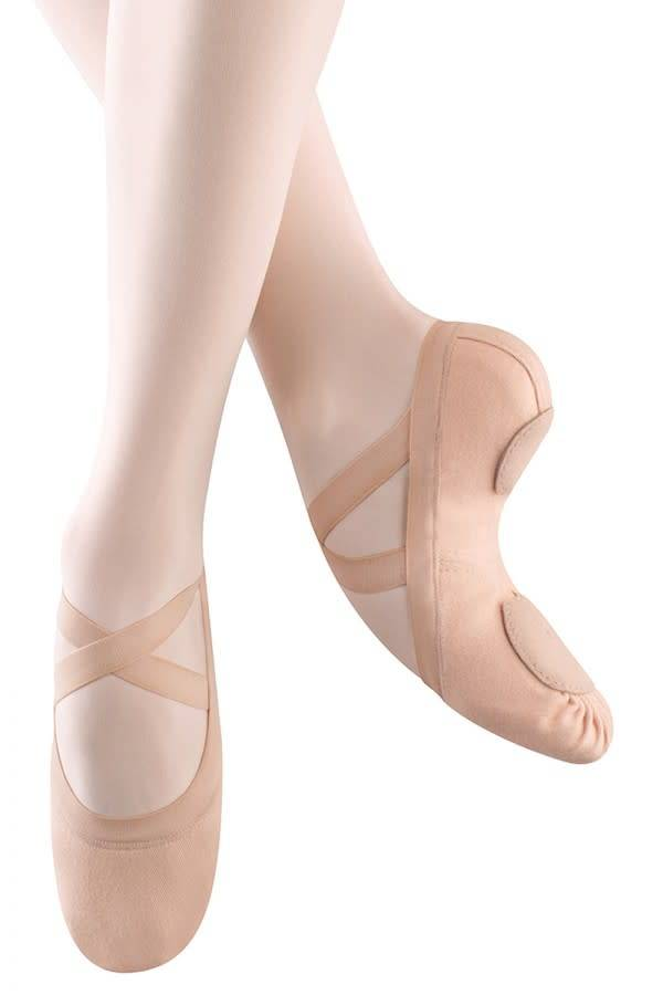 "Bloch Demi-pointe Bloch S0625L ""Synchrony"", Bi-semelle ""Split Sole"", Sans cordon, En canevas ""Stretch"""