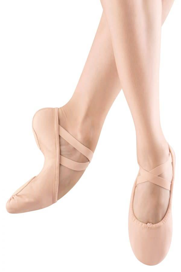 "Bloch Demi-pointe Bloch S0210L, Bi-semelle ""Split Sole"", En canevas"