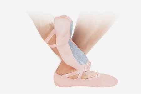 "Sansha Ballet Shoe Sansha 7L ""Nijinsky"", Full Sole, Leather"